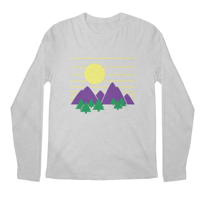 Sunset One Men's Regular Longsleeve T-Shirt by Michael Mohlman