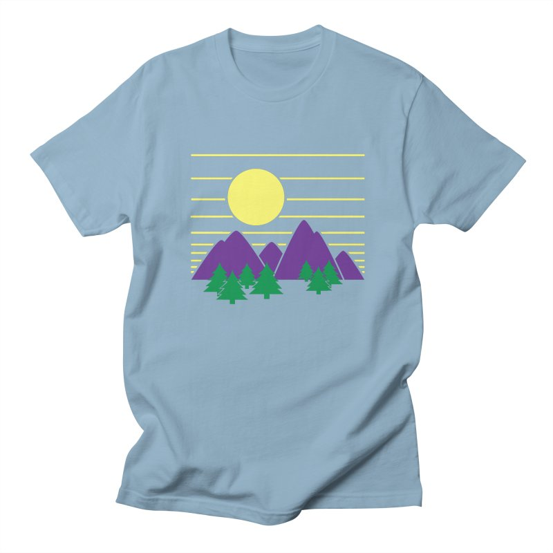 Sunset One Men's Regular T-Shirt by Michael Mohlman