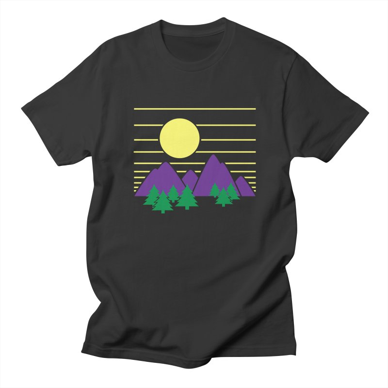 Sunset One Men's Regular T-Shirt by Michael Mohlman