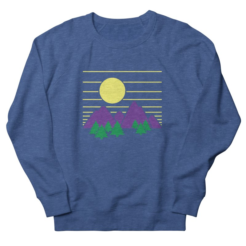 Sunset One Women's French Terry Sweatshirt by Michael Mohlman
