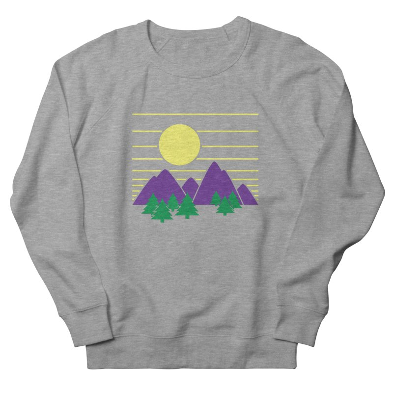 Sunset One Men's French Terry Sweatshirt by Michael Mohlman