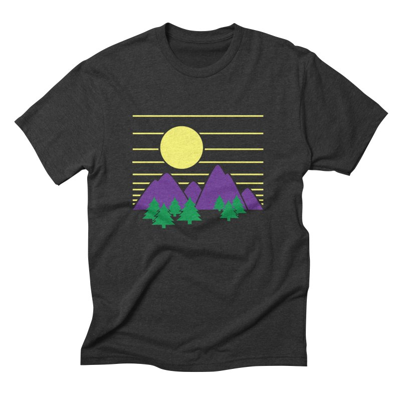 Sunset One Men's Triblend T-Shirt by Michael Mohlman