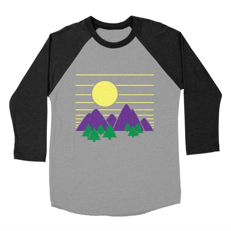 Sunset One Women's Baseball Triblend T-Shirt by Michael Mohlman