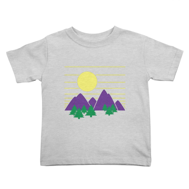 Sunset One Kids Toddler T-Shirt by Michael Mohlman