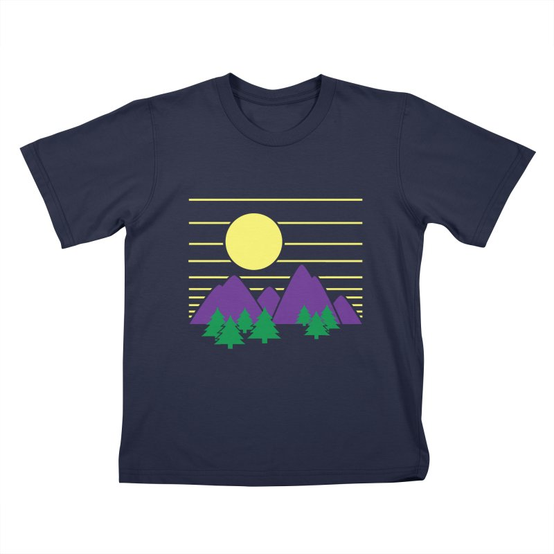 Sunset One Kids T-Shirt by Michael Mohlman