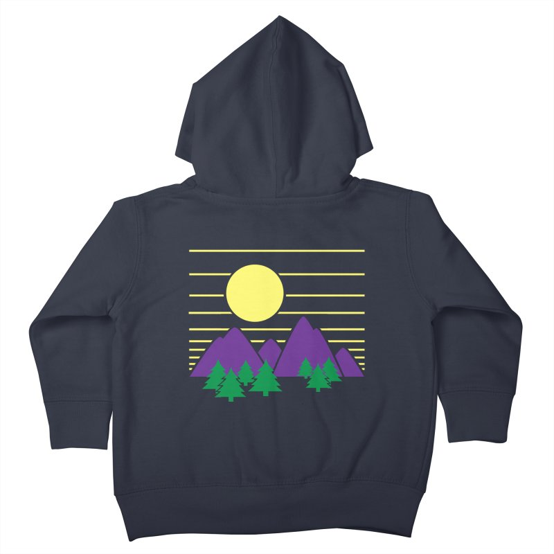 Sunset One Kids Toddler Zip-Up Hoody by Michael Mohlman