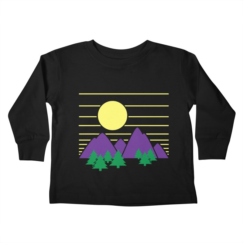 Sunset One Kids Toddler Longsleeve T-Shirt by Michael Mohlman