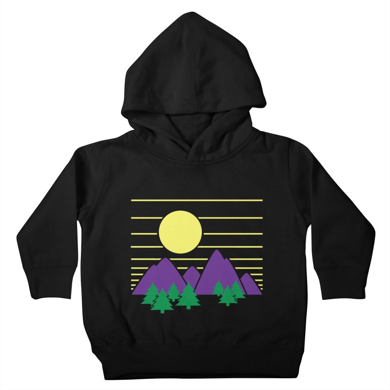 Sunset One Kids Toddler Pullover Hoody by Michael Mohlman