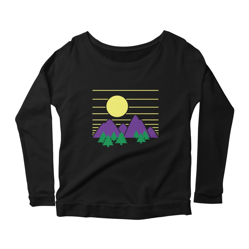 Sunset One Women's Scoop Neck Longsleeve T-Shirt by Michael Mohlman
