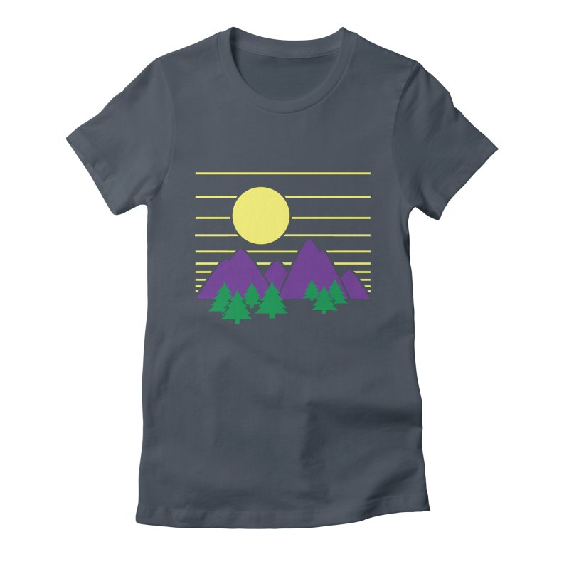 Sunset One Women's Fitted T-Shirt by Michael Mohlman