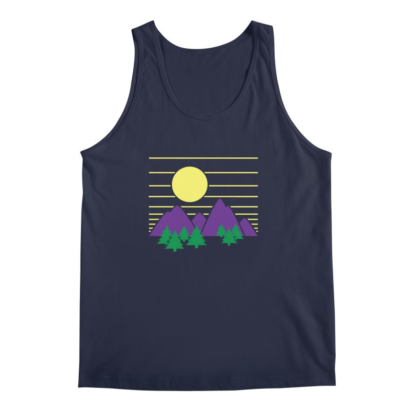 Sunset One Men's Tank by Michael Mohlman