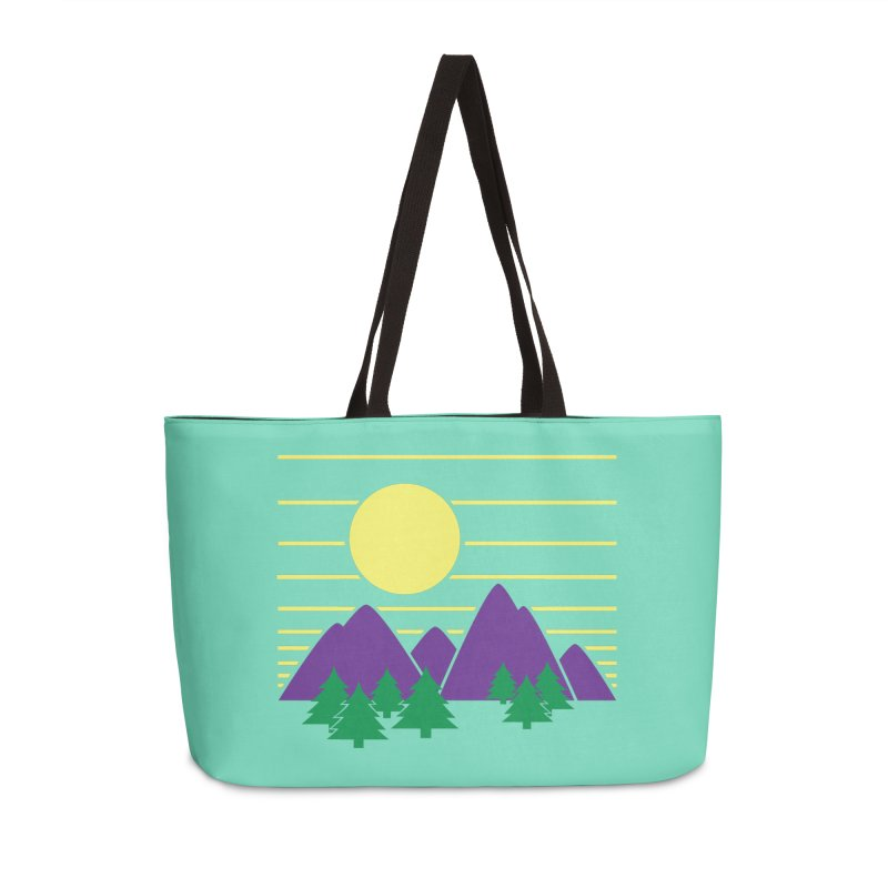 Sunset One Accessories Weekender Bag Bag by Michael Mohlman