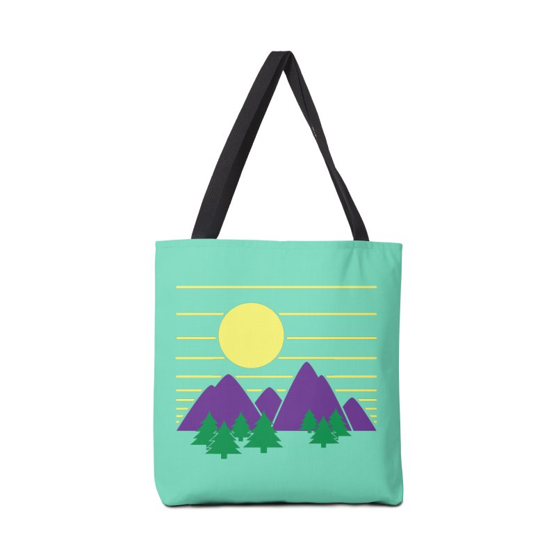 Sunset One Accessories Bag by Michael Mohlman