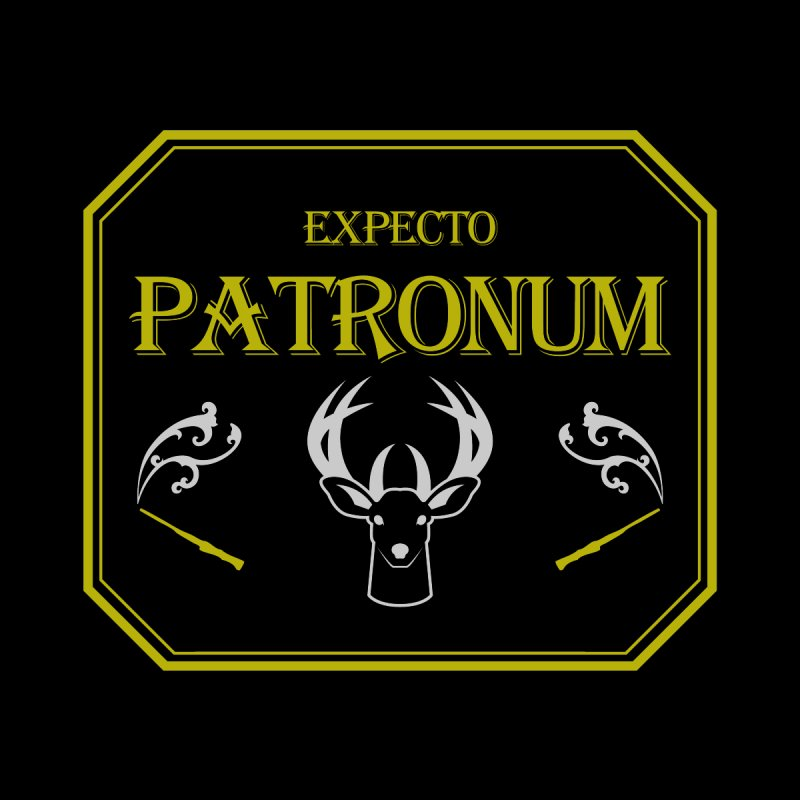 Expecto Patronum Kids T-Shirt by Michael Mohlman