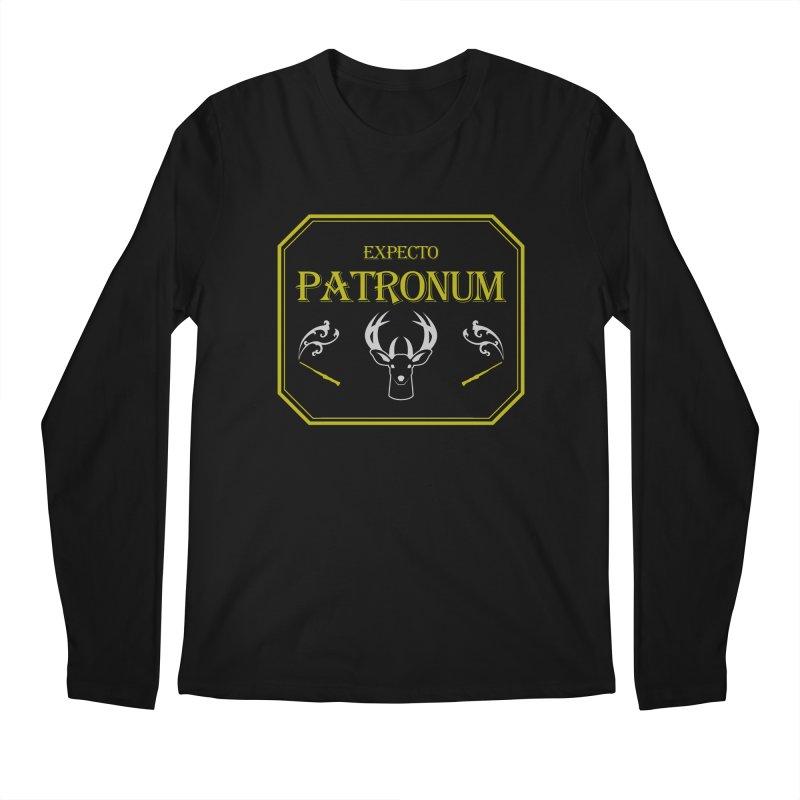 Expecto Patronum Men's Longsleeve T-Shirt by Michael Mohlman