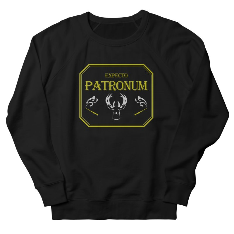 Expecto Patronum Men's French Terry Sweatshirt by Michael Mohlman