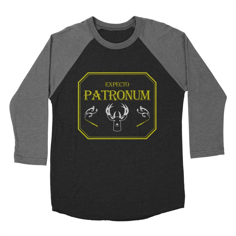 Expecto Patronum Men's Baseball Triblend T-Shirt by Michael Mohlman