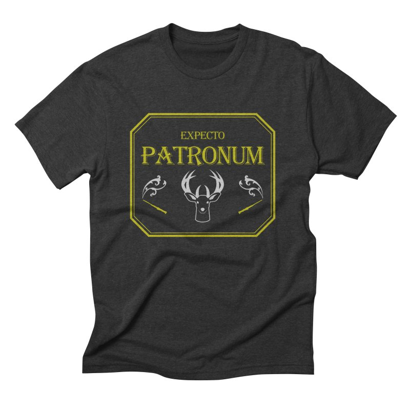 Expecto Patronum Men's Triblend T-shirt by Michael Mohlman