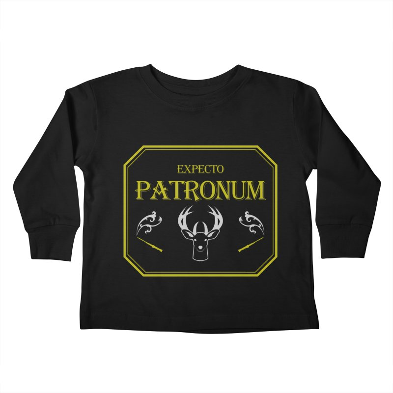 Expecto Patronum Kids Toddler Longsleeve T-Shirt by Michael Mohlman
