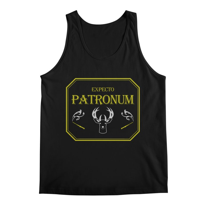 Expecto Patronum Men's Regular Tank by Michael Mohlman