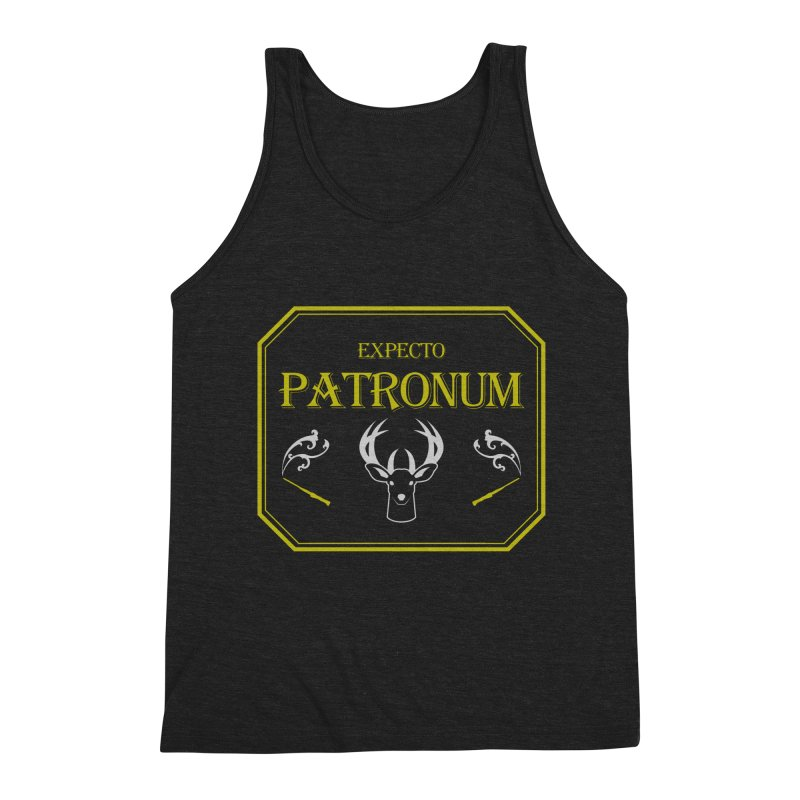 Expecto Patronum Men's Triblend Tank by Michael Mohlman