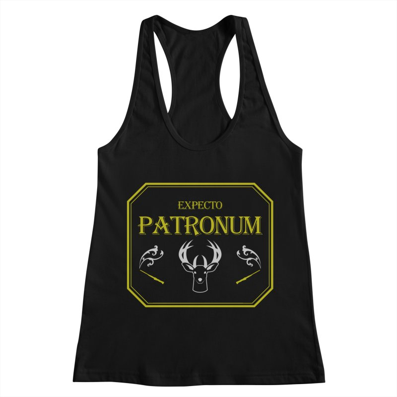 Expecto Patronum Women's Racerback Tank by Michael Mohlman