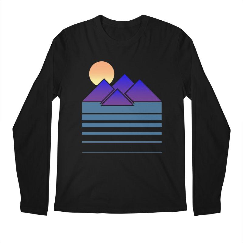 Sunset Two Men's Longsleeve T-Shirt by Michael Mohlman
