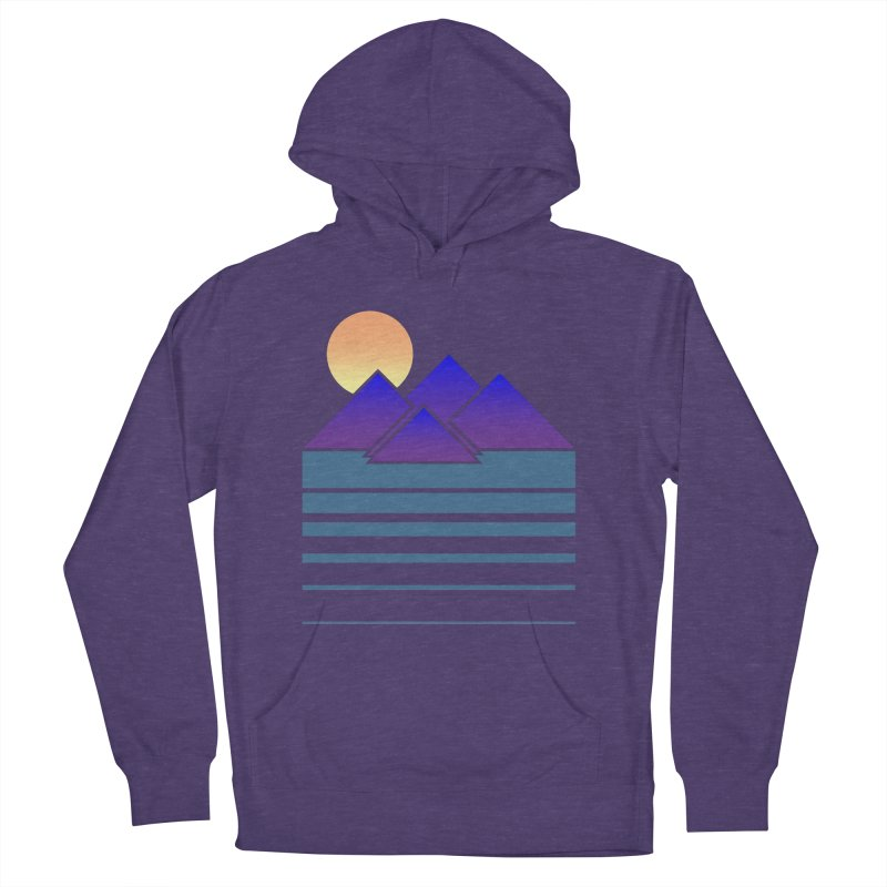 Sunset Two Women's French Terry Pullover Hoody by Michael Mohlman