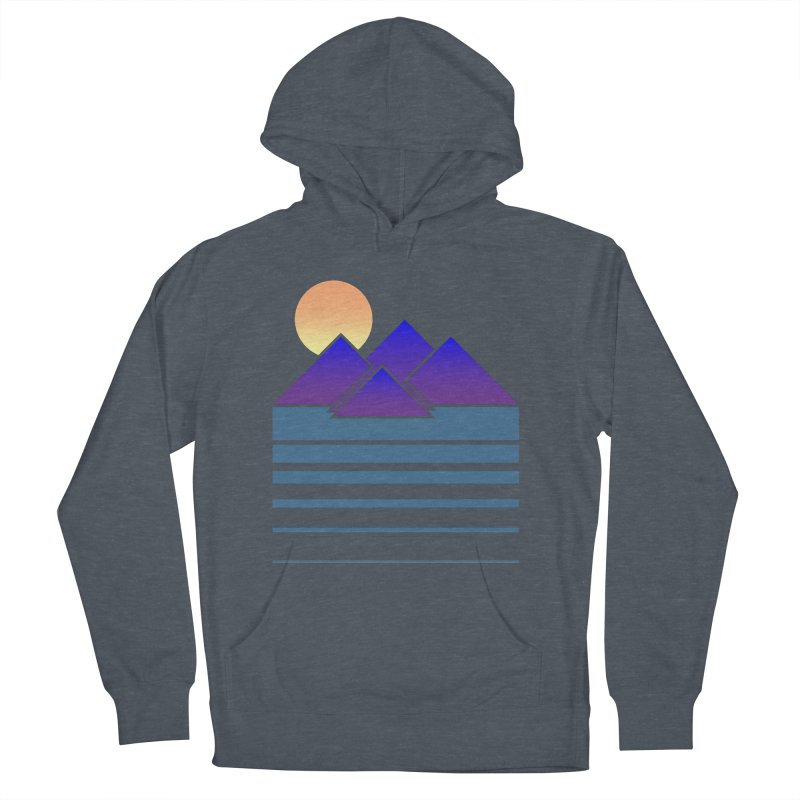 Sunset Two Men's Pullover Hoody by Michael Mohlman