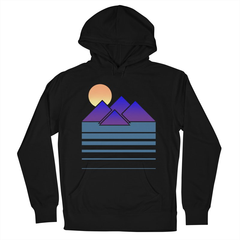 Sunset Two Men's French Terry Pullover Hoody by Michael Mohlman