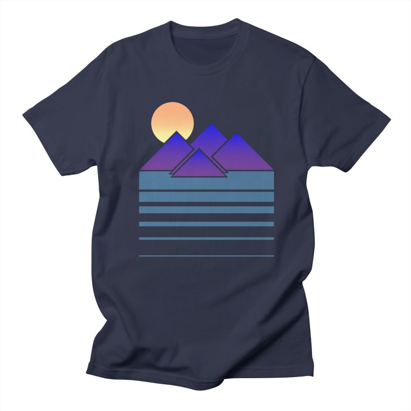 Sunset Two Men's Regular T-Shirt by Michael Mohlman