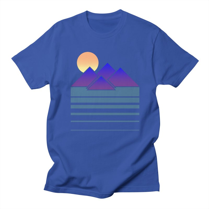 Sunset Two Men's T-Shirt by Michael Mohlman