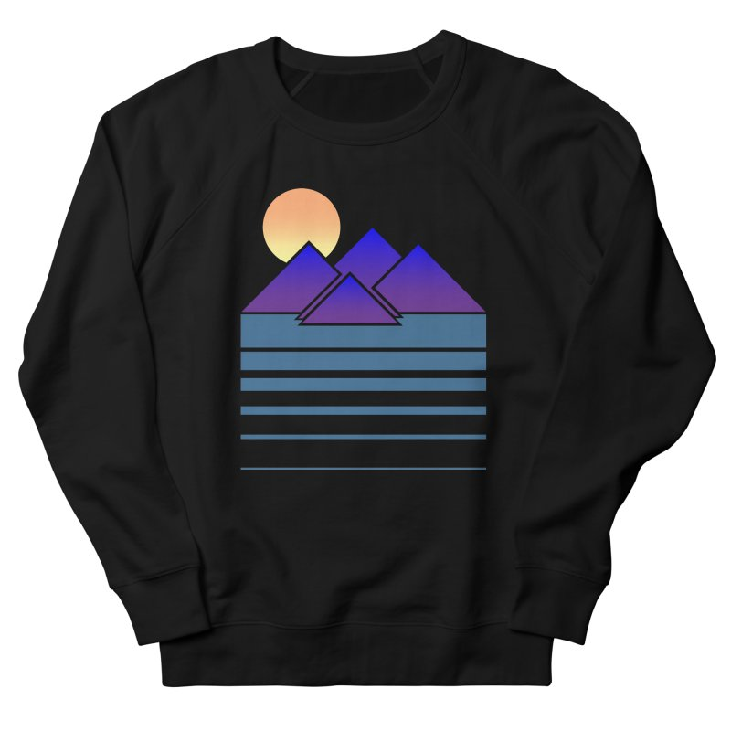 Sunset Two Women's French Terry Sweatshirt by Michael Mohlman