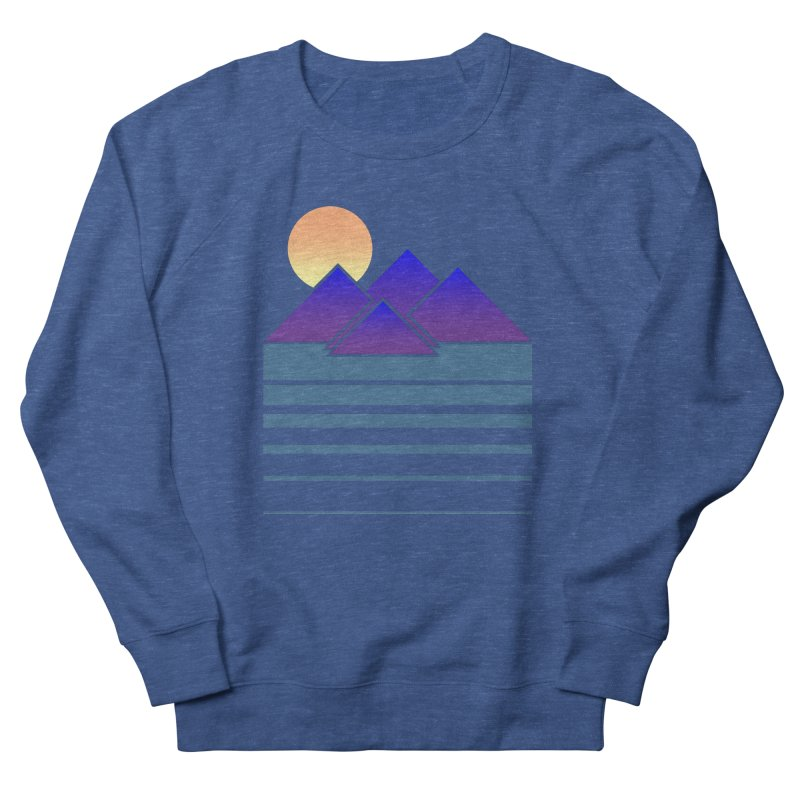 Sunset Two Men's French Terry Sweatshirt by Michael Mohlman