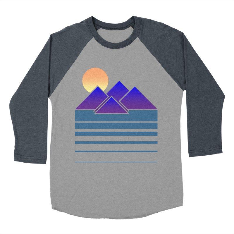 Sunset Two Women's Baseball Triblend Longsleeve T-Shirt by Michael Mohlman