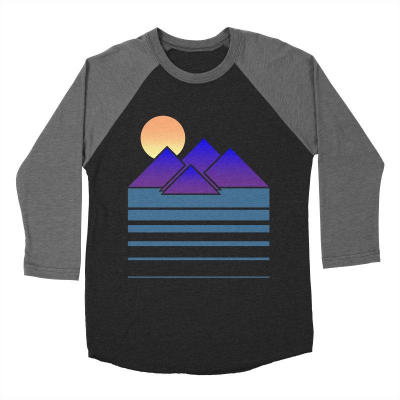 Sunset Two Men's Baseball Triblend T-Shirt by Michael Mohlman