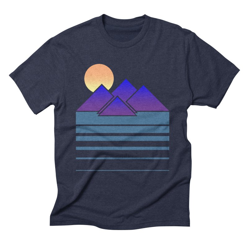 Sunset Two Men's Triblend T-shirt by Michael Mohlman
