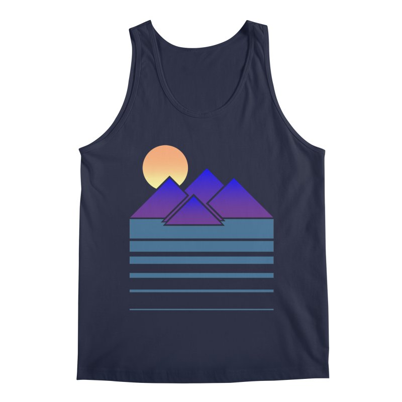 Sunset Two Men's Tank by Michael Mohlman