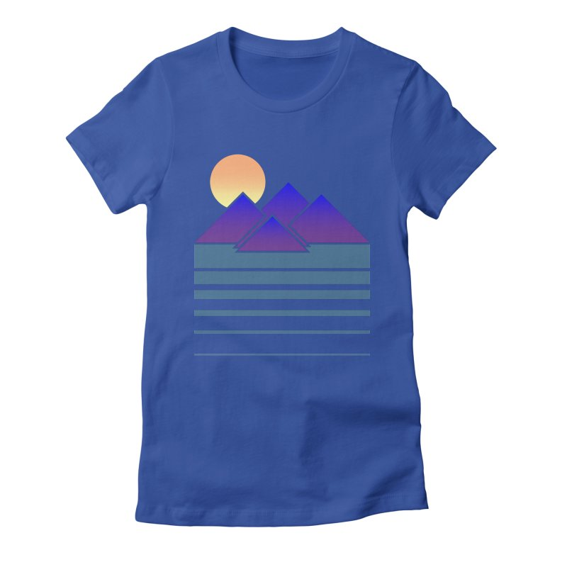 Sunset Two Women's Fitted T-Shirt by Michael Mohlman