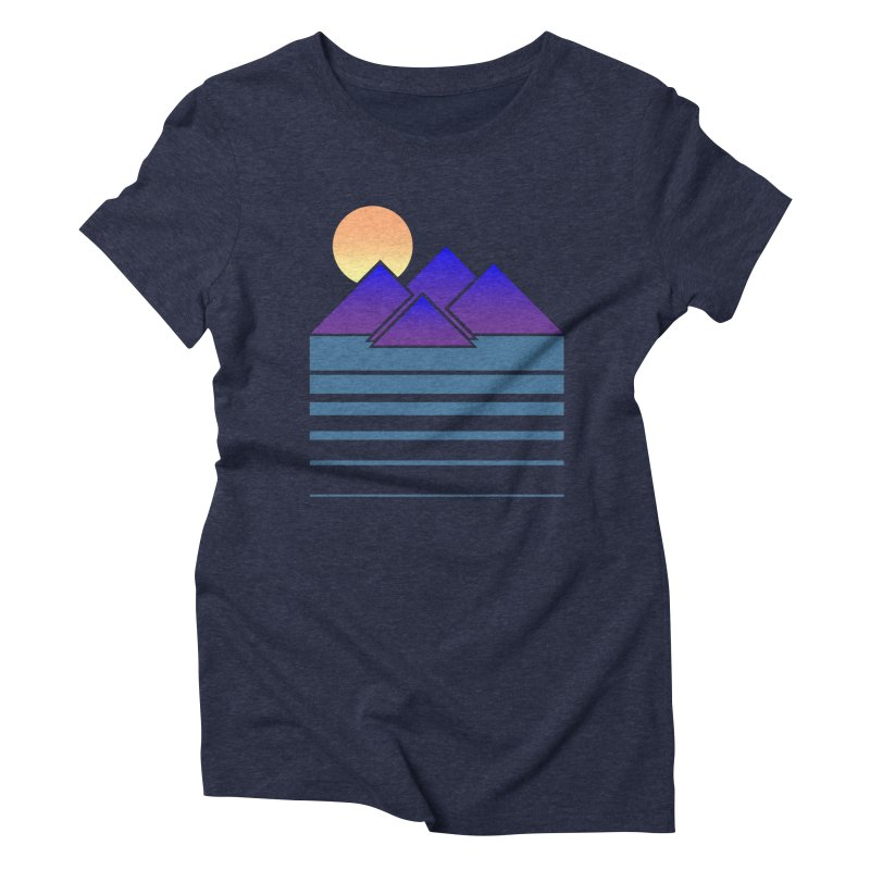 Sunset Two Women's Triblend T-shirt by Michael Mohlman