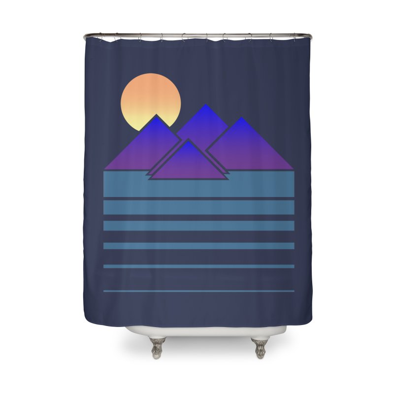 Sunset Two Home Shower Curtain by Michael Mohlman