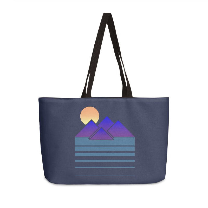 Sunset Two Accessories Weekender Bag Bag by Michael Mohlman
