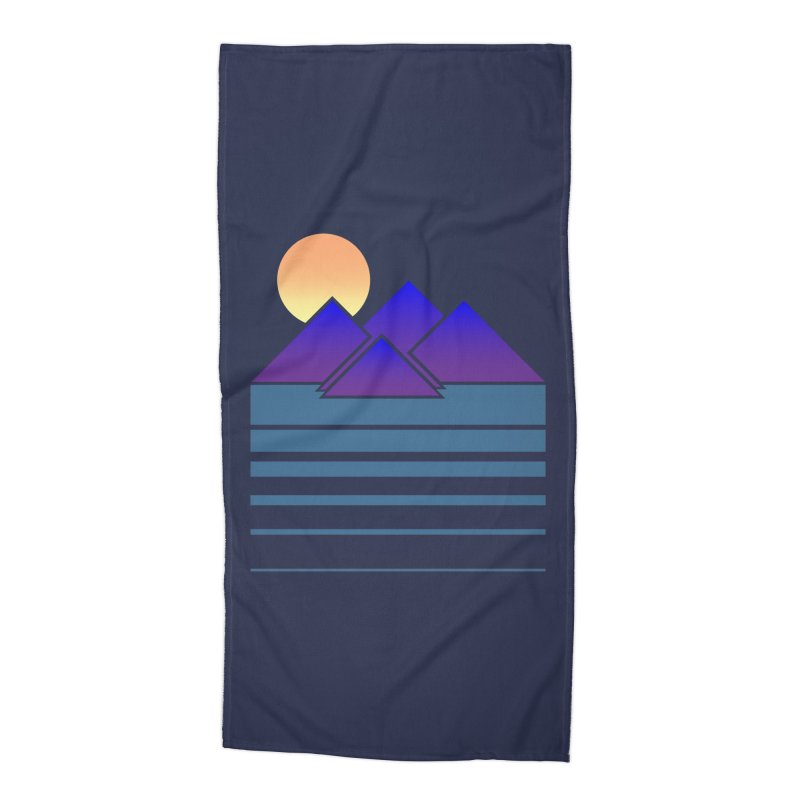 Sunset Two Accessories Beach Towel by Michael Mohlman