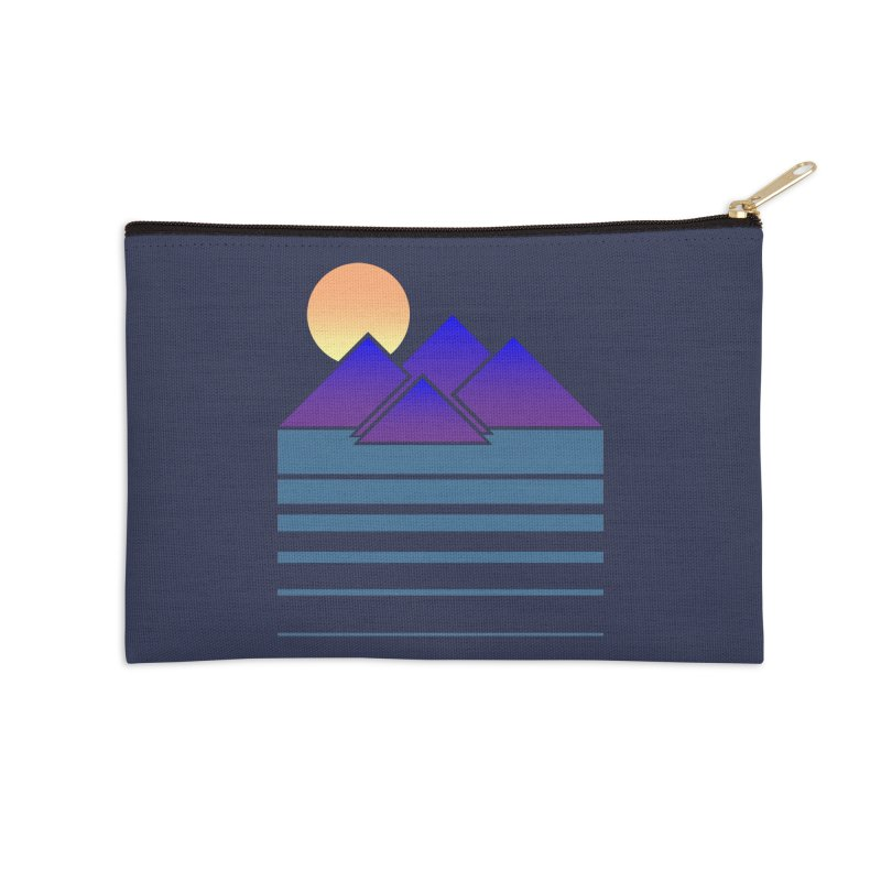 Sunset Two Accessories Zip Pouch by Michael Mohlman