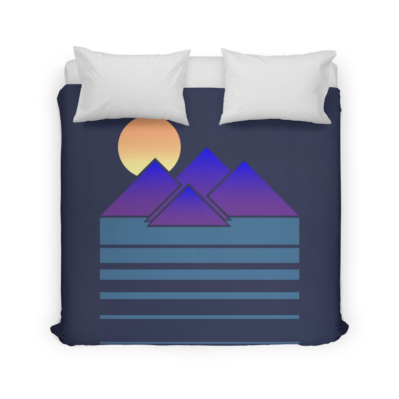 Sunset Two Home Duvet by Michael Mohlman