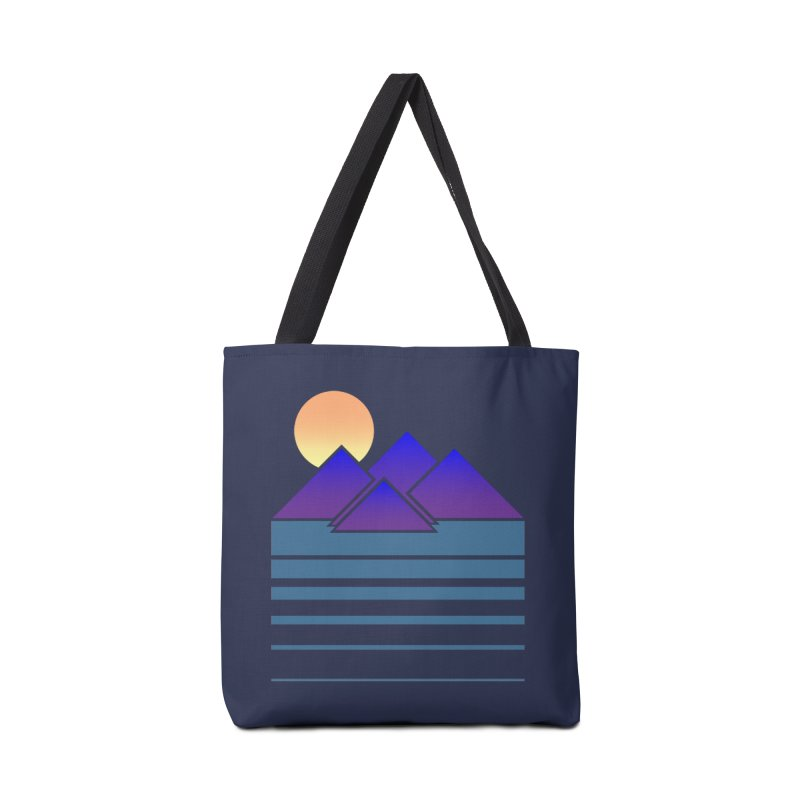 Sunset Two Accessories Bag by Michael Mohlman