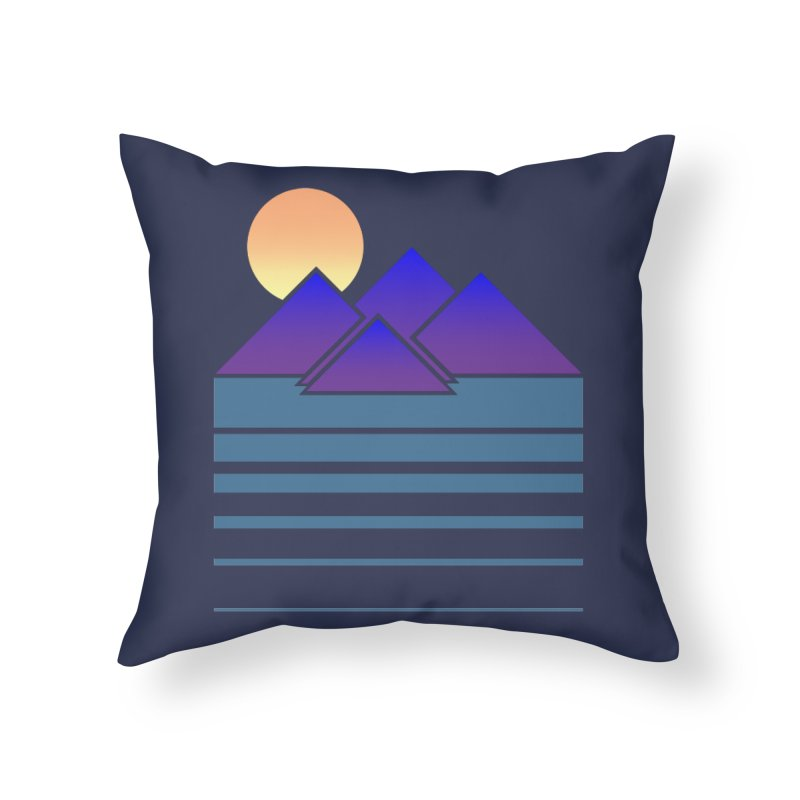 Sunset Two Home Throw Pillow by Michael Mohlman