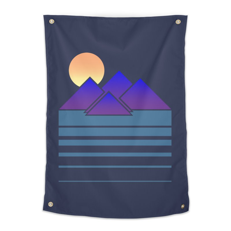 Sunset Two Home Tapestry by Michael Mohlman