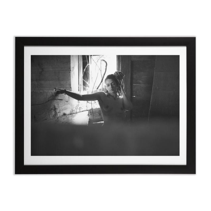 Forgotten Home Framed Fine Art Print by michaeloforegon's Artist Shop