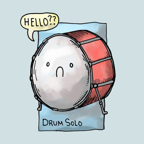 Design for The Most Lonely Drum